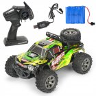 MGRC Mini RC Car 1/18 2.4G 4CH 2WD High Speed 20KM/h Brush Crawler Remote Controller Car Kids Toys green