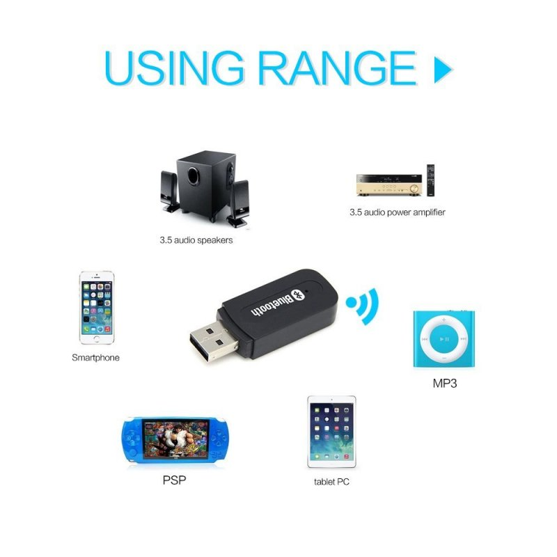 Mini USB Bluetooth Receiver & Adapter