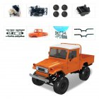 MN Model MN45 KIT 1/12 2.4G 4WD RC Car without ESC Battery Transmitter Receiver Orange