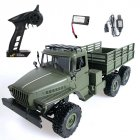 MN80S Ural 1/16 2.4G 6WD RC Car Truck Rock Crawler Command Communication Vehicle RTR Toy MN88S standard_1:16