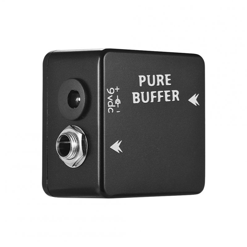 MOSKY PURE BUFFER Guitar Pedal Buffer Guitar Effect Pedal Full Metal Shell Guitar Parts & Accessories black