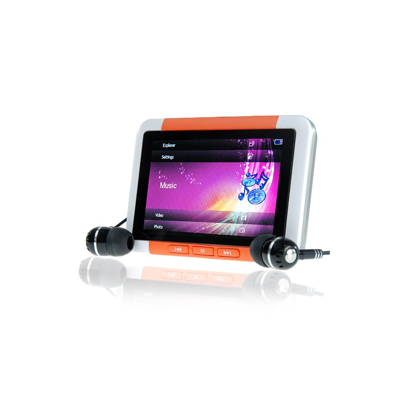 16GB MP4/MP3 Player with 3 Inch LCD - Video File King Edition