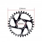 MTB Bicycle Chainring GXP  Chainwheel 32T 34T 36T Bike Crank 32T disc-black