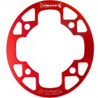 MTB Bike Chainring Protection Cover 32T/34T 36T/38T/40T/42T Bicycle Sprocket Crankset Guard Chainwheel Protector 104bcd oval guard plate 32-34T red