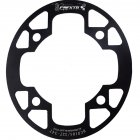 MTB Bike Chainring Protection Cover 32T/34T 36T/38T/40T/42T Bicycle Sprocket Crankset Guard Chainwheel Protector 104bcd oval guard plate 32-34T black