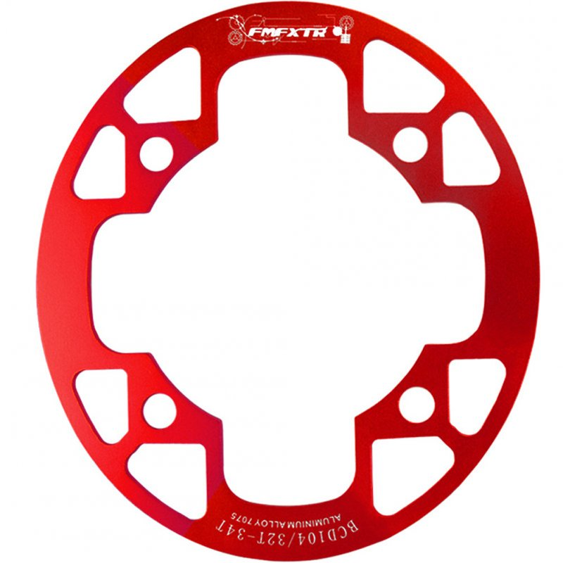 MTB Bicycle Crank 104BCD Oval 32T//34T//36T//38T Chainring Bicycle Single Plate