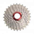 MTB Bike Freewheel 8S/9S 25 28 32 40 42T MTB Mountain Bike Flywheel 8 9 Speed Cassette Sprocket Silver_9 speed 28T