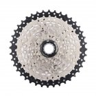 MTB Bike Freewheel 8S/9S 25 28 32 40 42T MTB Mountain Bike Flywheel 8 9 Speed Cassette Sprocket for Shimano Sram Black + silver_8 speed 40T