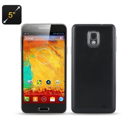 5 Inch Octa Core Phone 'Note 3 Mini' (Black)