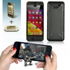 MUCH G2 Game Console Smartphone has a 5 Inch 1280x720 Screen  MTK6589 Quad Core 1 2GHz CPU  1GB RAM  16GB ROM  3G and an Android4 2 OS