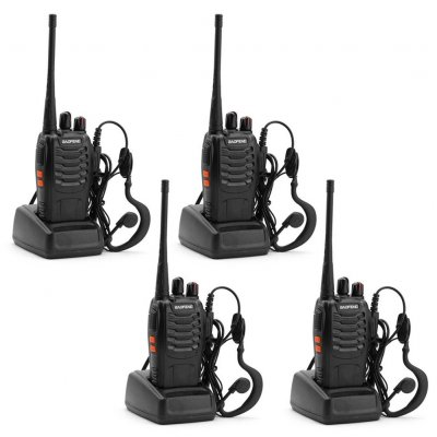 Handheld Portable BF-888S Walkie Talkie