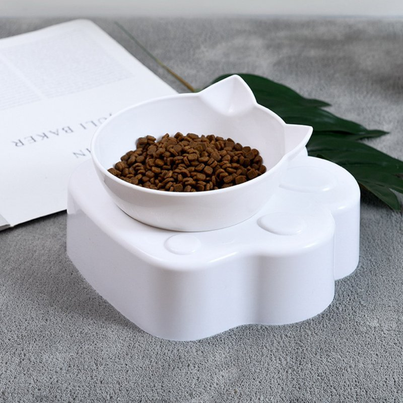 Magnetic Cat Bowl Inclined Oblique Mouth Feeding Bowl Easy To Eat Dog Pet Supply magnetic claw Bowl