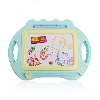 Magnetic Plate Coolplay Drawing Board Early Educational Kids Drawing Toys Maca green
