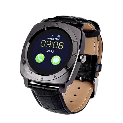 Iradish X3 Smartwatch (Black)