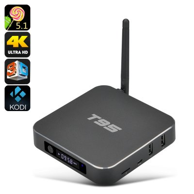 T95 4K Android TV Box