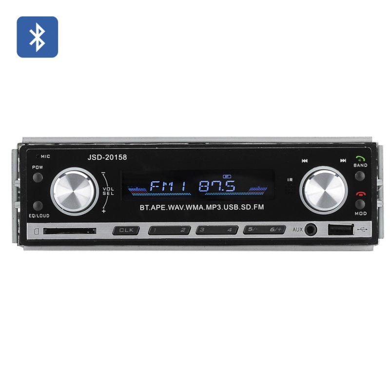 1 DIN Bluetooth Car Stereo