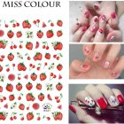 Manicure Nail Sticker Manicure Stickers Accessories Strawberry Rainbow Cherry Stickers Nail sticker_267