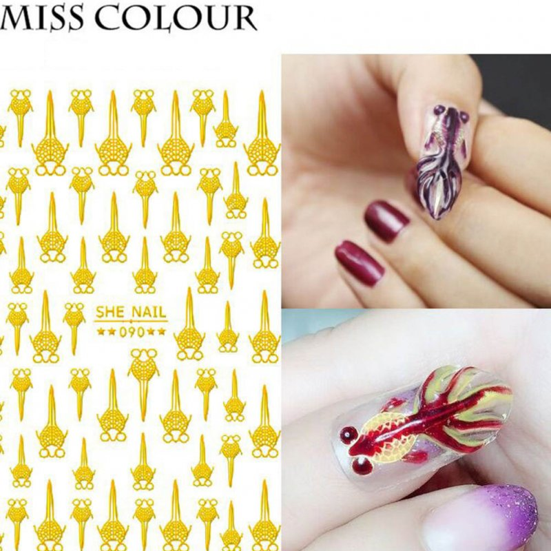 Manicure Nail Sticker Manicure Stickers Accessories Strawberry Rainbow Cherry Stickers Nail sticker_090
