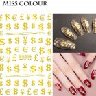 Manicure Nail Sticker Manicure Stickers Accessories Strawberry Rainbow Cherry Stickers Nail sticker_087