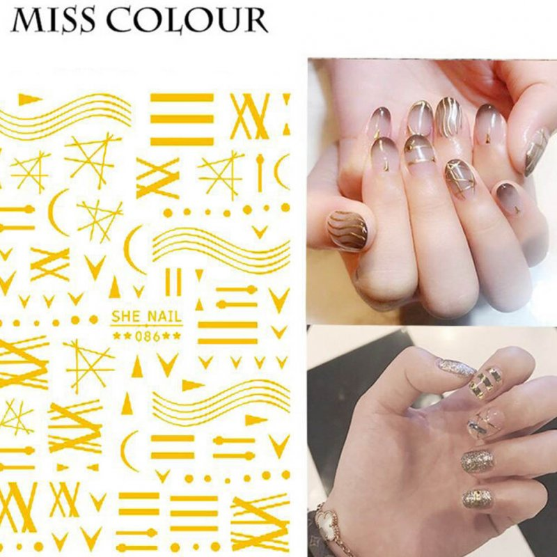 Manicure Nail Sticker Manicure Stickers Accessories Strawberry Rainbow Cherry Stickers Nail sticker_086