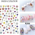 Manicure Nail Sticker Manicure Stickers Accessories Strawberry Rainbow Cherry Stickers Nail sticker 266