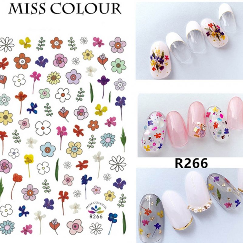 Manicure Nail Sticker Manicure Stickers Accessories Strawberry Rainbow Cherry Stickers Nail sticker_266