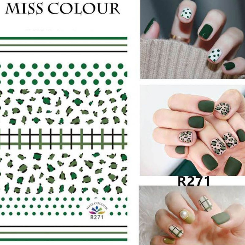 Manicure Nail Sticker Manicure Stickers Accessories Strawberry Rainbow Cherry Stickers Nail sticker_271