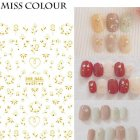 Manicure Nail Sticker Manicure Stickers Accessories Strawberry Rainbow Cherry Stickers Nail sticker_091