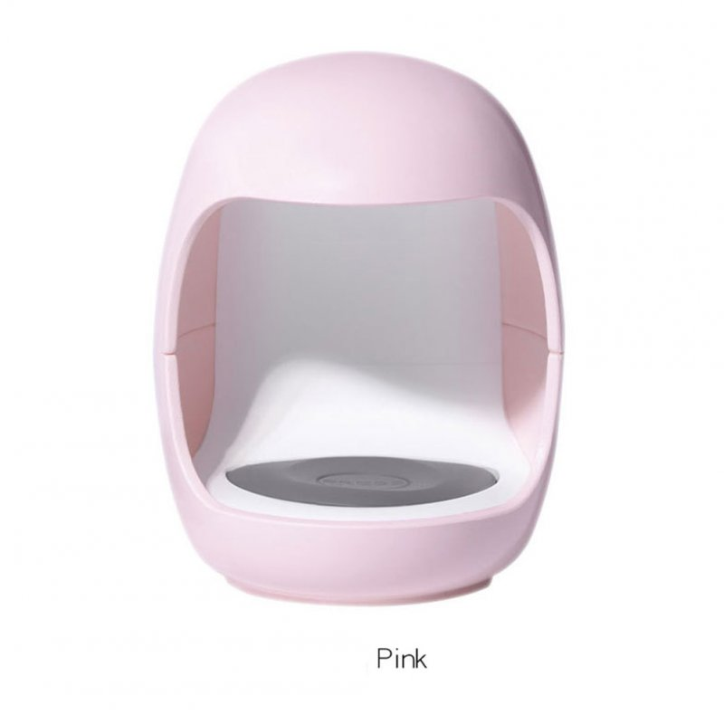 Manicures Lamp Mini USB Interface Nail Dryer for Single Finger Dedicated Nail Lamp (not include USB cable) Pink