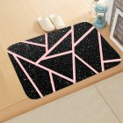 Marble Pattern Flannel Door Mat Floor Mat Rugs Non-slip Doormats for Outdoor Bathroom Kitchen Carpets 40*60cm