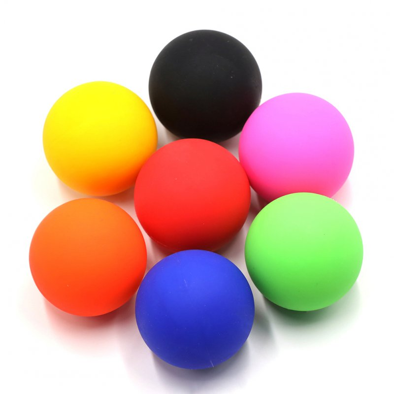 Massage Ball Fitness Therapy Gym Relaxing Exercise Yoga Ball Release Muscle Sports Equipment Random Color