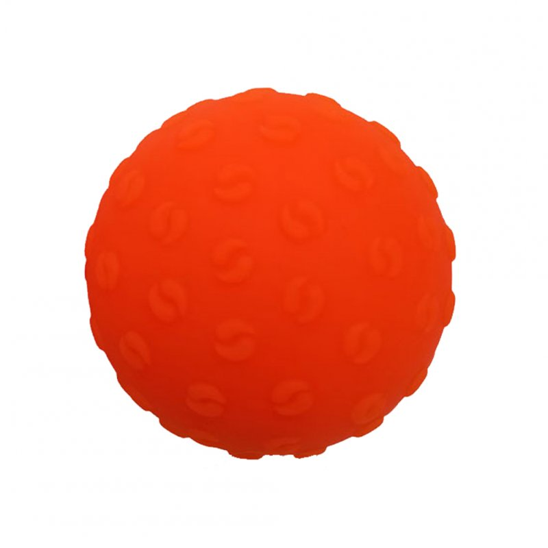 Massage Ball Lightweight Fitness Training Lacrosse Ball Body Yoga Sport Exercise Yoga Massage Ball Orange