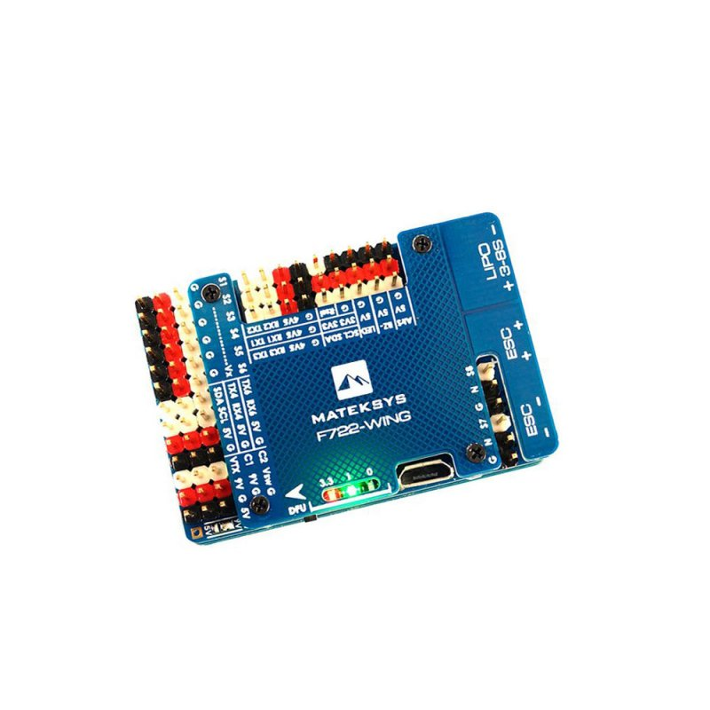 Matek Systems F722-WING STM32F722RET6 Flight Controller Built-in OSD for RC Airplane Fixed Wing KSX3268