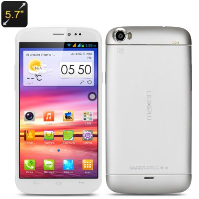 Maxon X3 5.7 Inch Phone (White)