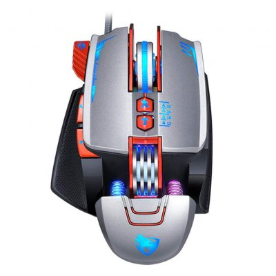 Mechanical Gaming Laptop General Mouse Silver