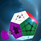 Megaminx magic cube Cubing Culture WRM magnetic Megaminx  magic cube Puzzle toy color