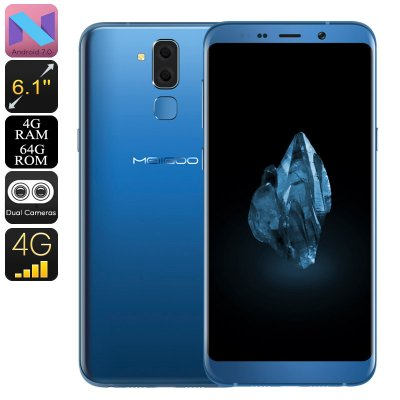 Meiigoo S8 Android Phone (Blue)