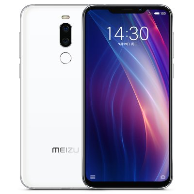 Meizu X8 6+64GB 4G LTE Smart Phone White
