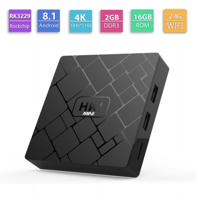 HK1 MINI 2G+16GB Android 8.1 TV BOX UK Plug