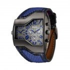 Oulm HP-1220 Men Quartz Watch - Blue