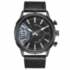 Oulm HP-3640 Men Quartz Watch - Black