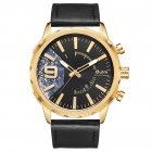 Oulm HP-3640 Men Quartz Watch - Gold