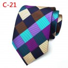 Men Fashion Creative Printing Tie Soft Elegant Neck Tie Perfect Gifts C21