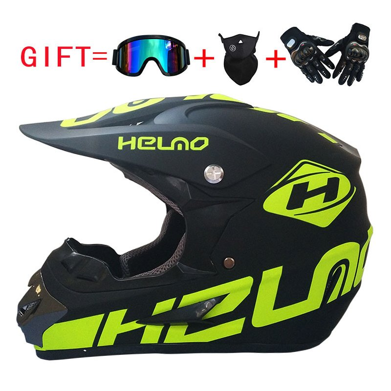 Men Motorcycle Motocross Racing Helmet