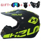 Off Road Casco Bike Racing Helmet green L