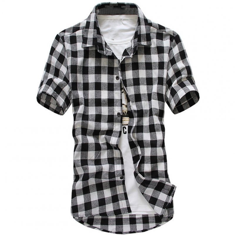 Men Fashion Summer Casual Shirt