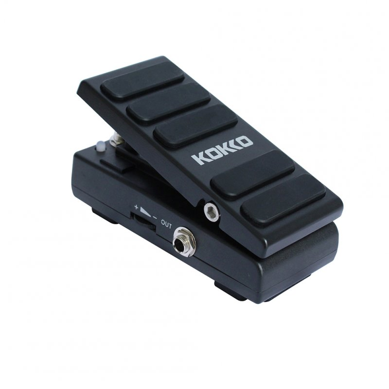 KW-1 Electric Guitar Effects Pedalboard Wah Pedal Volume Footswitch Guitar Accessaries Parts black