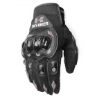 Men Motorcycle Riding Protective  Gloves For  Riders  Bikers gray_M
