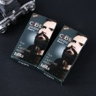 Men Mustache   Beard Dye Cream Natural Black Beard Tint Cream with Disposable Gloves