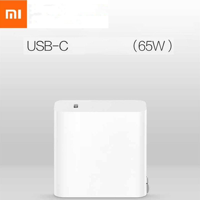 Xiaomi USB TO TypeC Power Adapter 65W Quick Charge Socket Power Adapter (US regulations) white